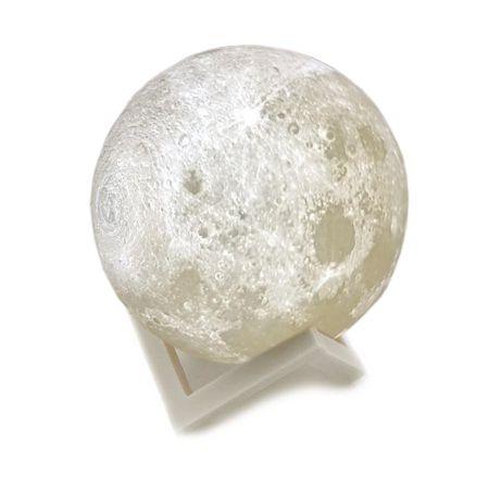 Luminária Lua Cheia 3D - 12 cm