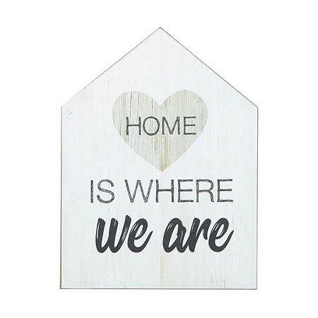 Quadrinho - Home is where we are