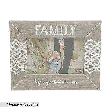 Porta Retrato - Family Rústico