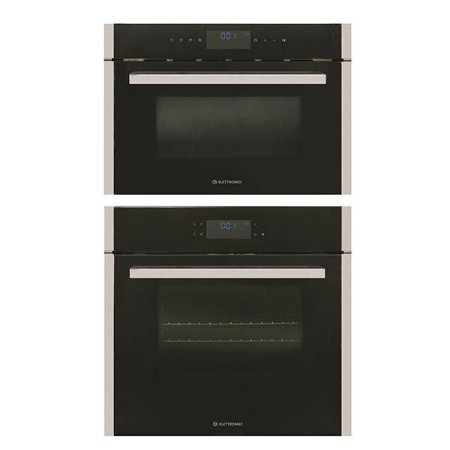 Forno Nero Multifunções Digital 60cm e Micro-Ondas Nero 35L Built-In