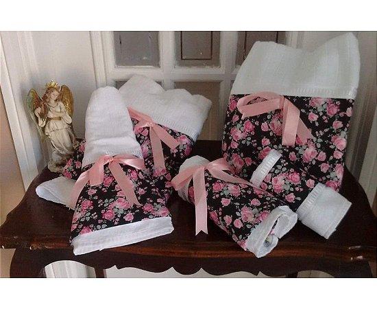Kit Toaletes Flores da Noite