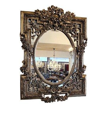 Espelho em Resina Folheado a Prata