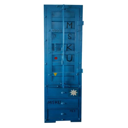 Armário Container Azul