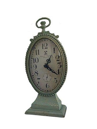 Relógio de Bancada Oval