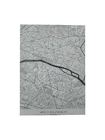 Quadro Paris França 0,90m X 0,65m - Tela Impressa