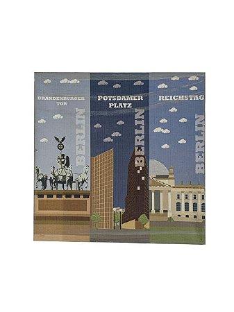 Quadro Berlin 0,50m X 0,50m - Tela Impressa
