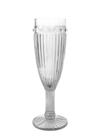 Taça Decorativa de Vidro Fina Transparente