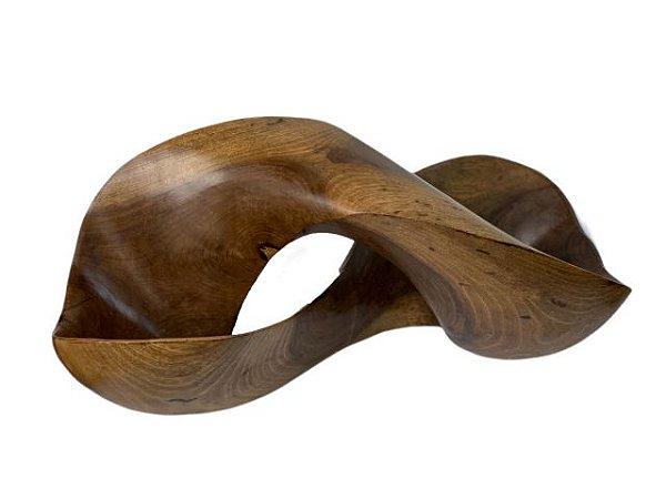 Escultura Artesanal Curva do Infinito
