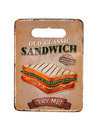 Azulejo e Tábua com Fundo de Borracha de Corte Sandwich