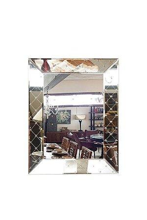 Espelho Retangular Bisotado