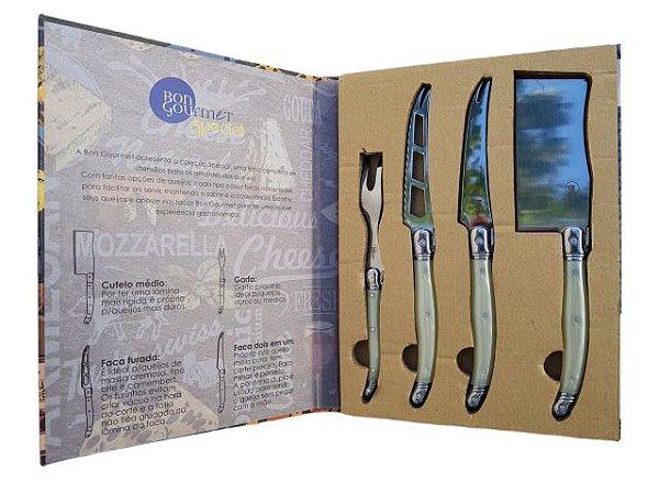 Kit de Facas Decorativas Bon Gourmet Special