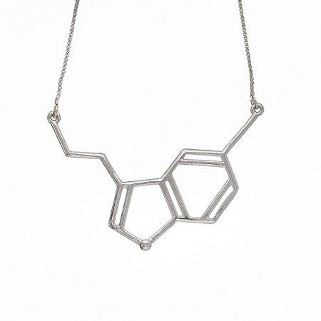 Colar Serotonina Prata