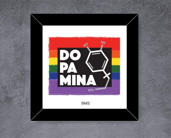 Quadro Dopamina Diversidade
