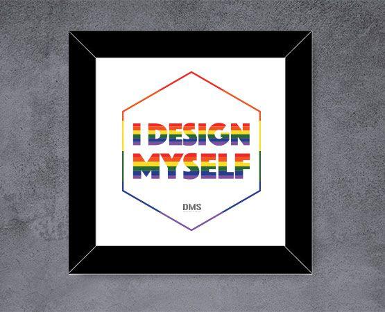 Quadro I Design Myself Diversidade