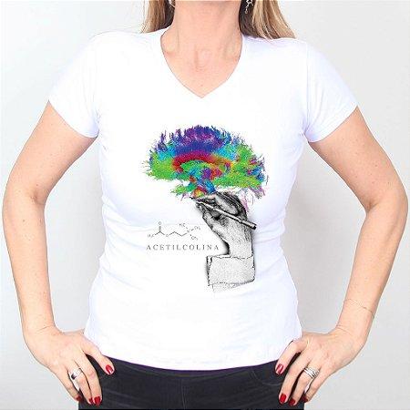 Camiseta Acetilcolina Feminina