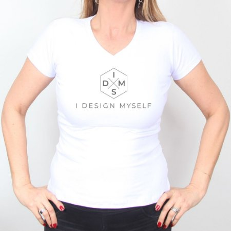Camiseta I Design Myself Feminina