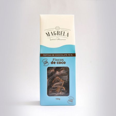 Pepita de Chocolate 70% e Coco Low Carb