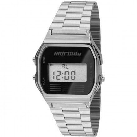 Relógio Mormaii Vintage Prata MOJH02AA/3P