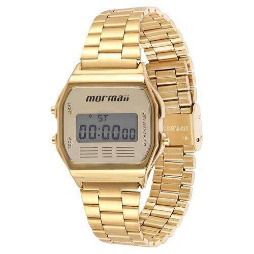 Relógio Mormaii Vintage Dourado Mojh02ab/4d
