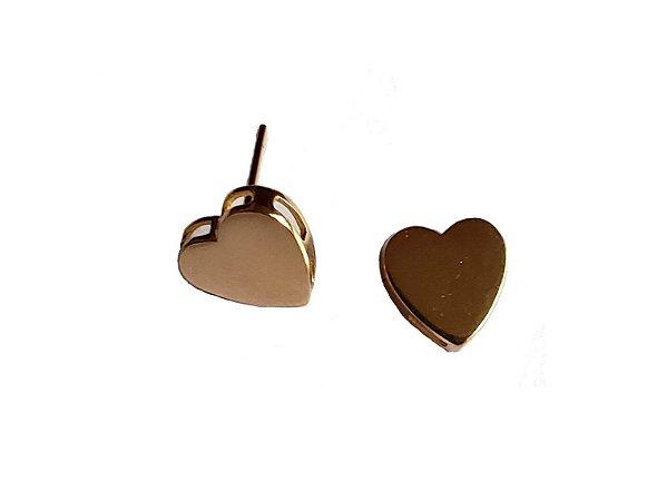 Brincos Delicados Coração