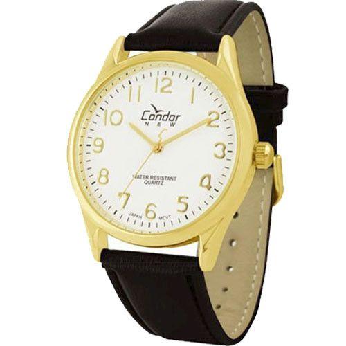 Relógio Condor Masculino Couro Co2035aa/2b