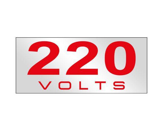 220 VOLTS 6554