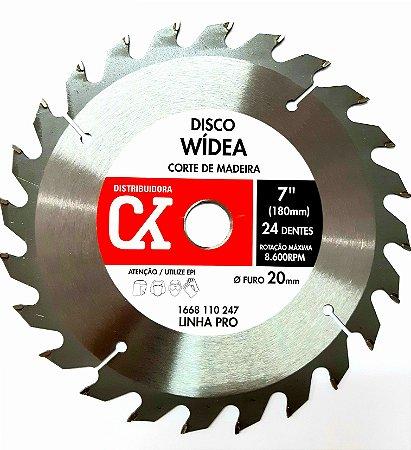 "Disco Wídea 7"" (180mm) - Corte de madeira"