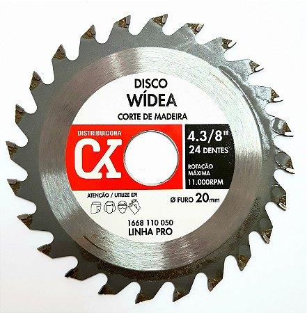 """Disco Wídea 4.3/8"""" - Corte de madeira"""