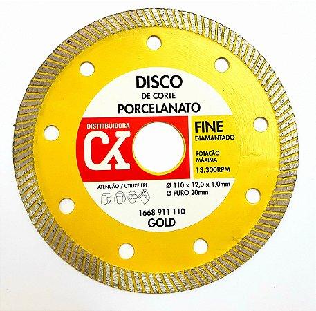 Disco Diamantado Fine 110 mm x 12,0 x 1,0 mm