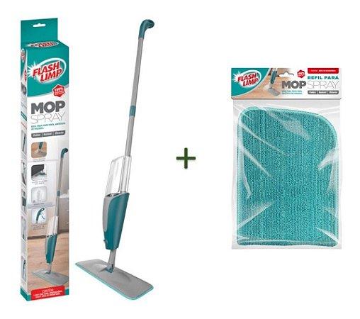 Mop Spray Com Reservatório Flashlimp Rodo Fácil com + 1 Refil