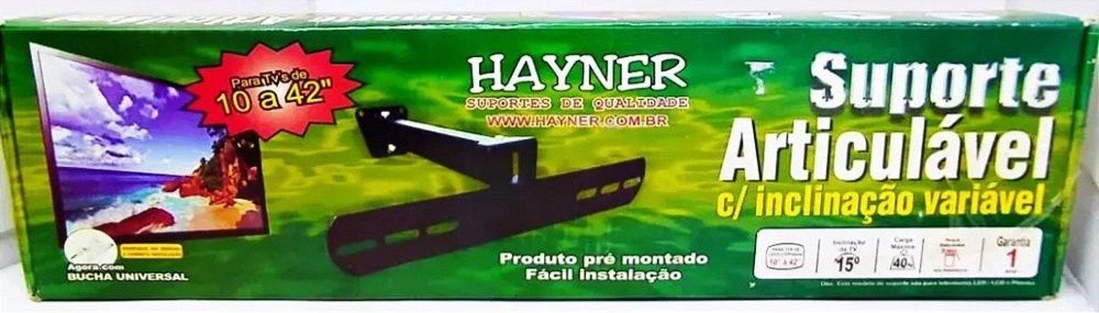 """Sup. p/ TV (14 a 42"""") Articulado - Hayner"""