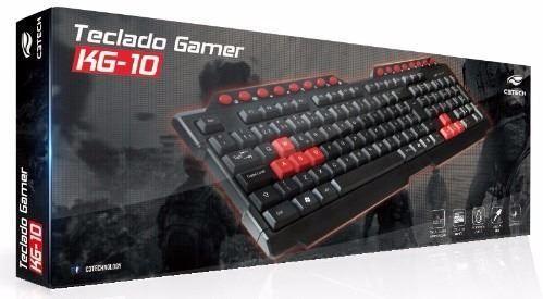 Teclado Gamer USB C3 Tech KG-10