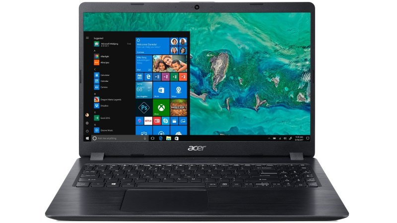 Notebook Core i5 8GB 1TB W10 Home GeForce MX130 2GB 15.6 Acer A515-52g
