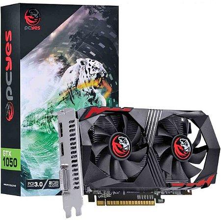 Placa de Vídeo GeForce Pcyes GTX 1050 2GB DDR5