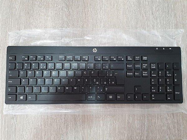Teclado e Mouse sem fio HP C200