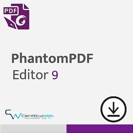 Editor de PDF Foxit PhantomPDF 9