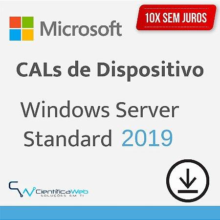 CALs de Dispositivo Windows Server 2019
