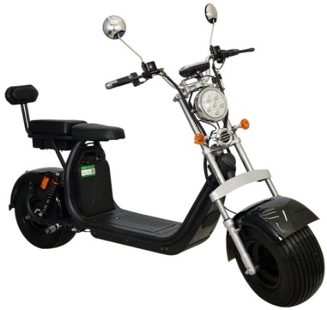 Chopper Scooter Elétrica 2000w - Preto