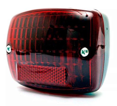 Lanterna / Lente Traseira da Mobilete Monark Bikelete Caloi