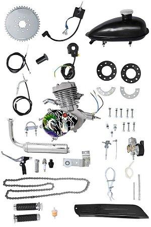Kit Motor Moskito 80cc Para Bicicleta Original Coringa