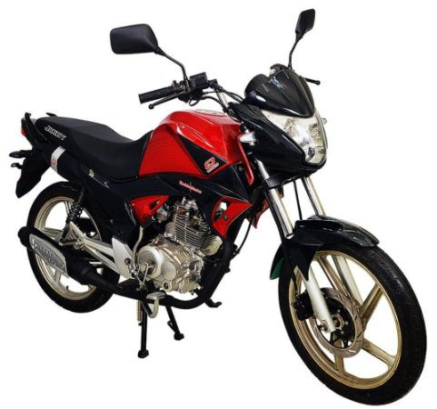Moto Jonny Quick 150cc Zero Km Vermelho
