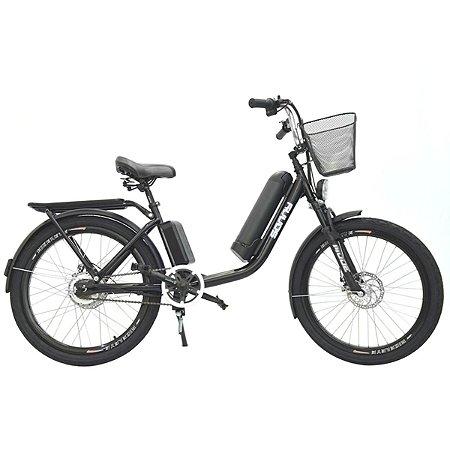 Bicicleta Elétrica Sonny 350w com Bateria de Lítio - Preto