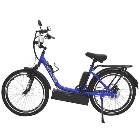 Bicicleta Elétrica Sonny Farol de LED - Azul Escuro