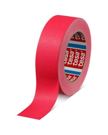 Fita Tecido Gaffer Tape Tesa 48mm X 25m Rosa Fluorescente