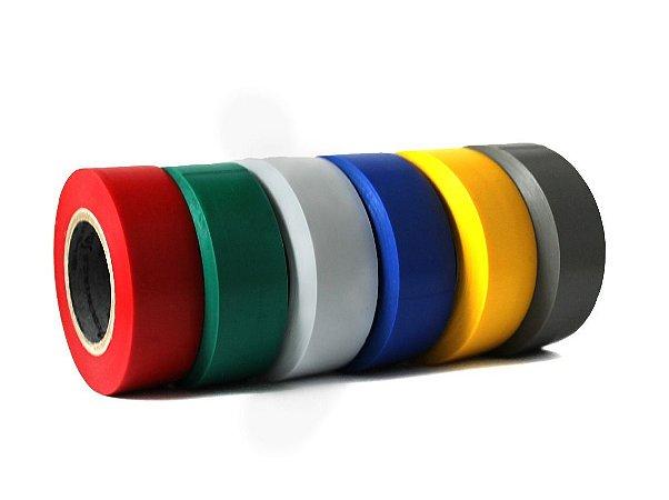 Fita Isolante Colorida 19mm x 20m