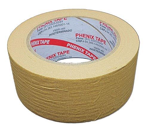 Fita Crepe de Papel Kraft 417 Phenix Tape 48mm x 50m