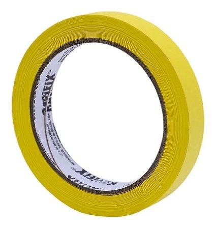 Fita Crepe Rapifix 590 Amarela 18mm x 40m