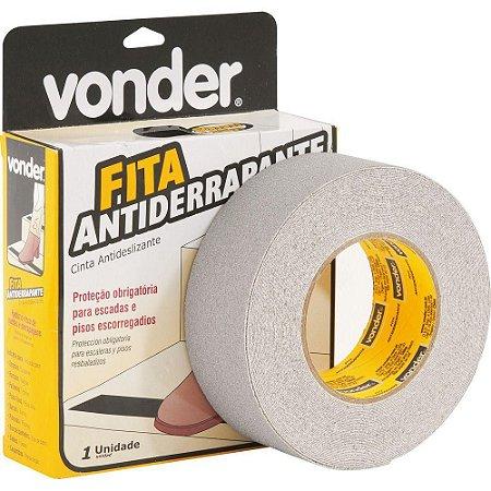 Fita Antiderrapante Vonder 50mm x 15m - Cinza