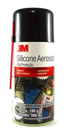Silicone Aerossol 3M – Lata de 180 g