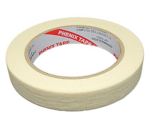Fita Crepe Branca Phenix Tape 18mm x 50m
